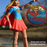 Hurricane Relief Super Girl Patch