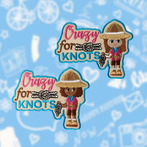Crazy for Knots Patch