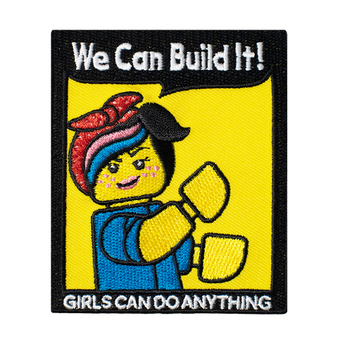 We Can Build It Lego  GIRLS CAN DO ANYTHING