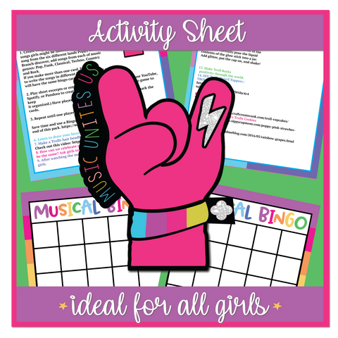 Music Unites Us Activity Sheet