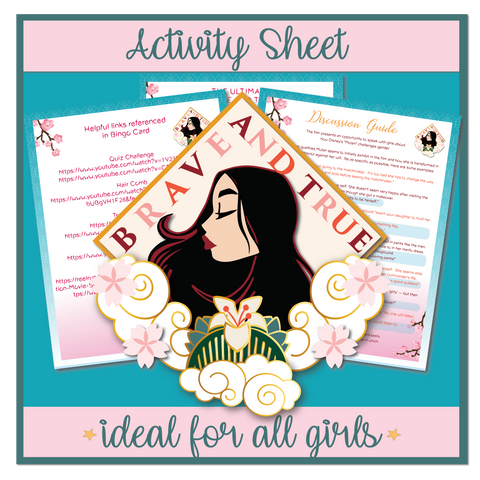 Brave and True Activity Sheet