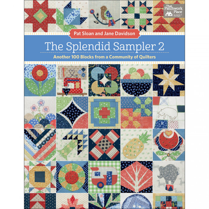 My block in The Splendid Sampler 2!!!