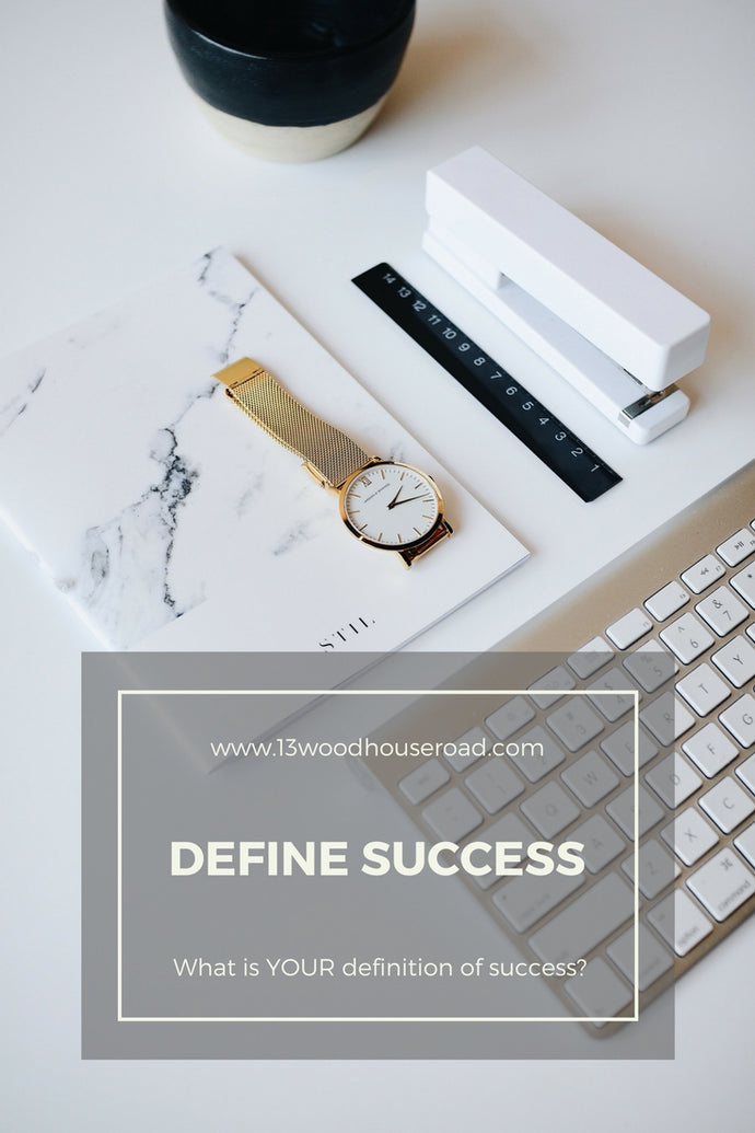 Define your own version of success