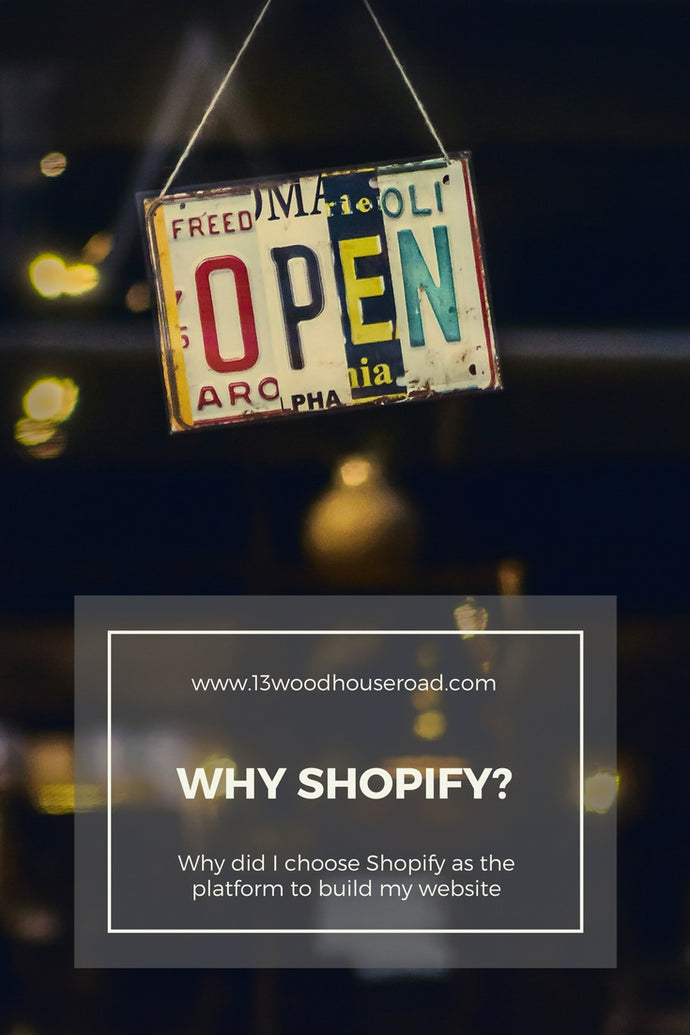 Why I used Shopify to make my website?
