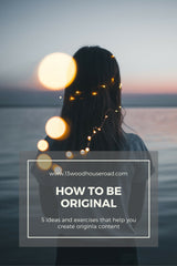 How to be original