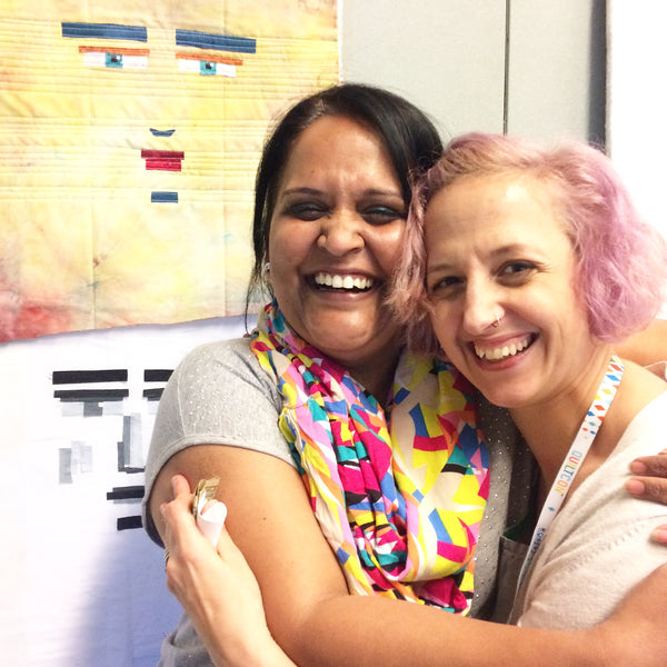 melissa-averinos-and-shruti-at-quiltcon-2017-savannah-georgia
