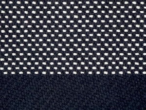Eclipse Tea Towel • Navy White Twill Dot