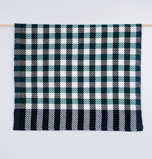 Check Tea Towel • Green/White/Navy