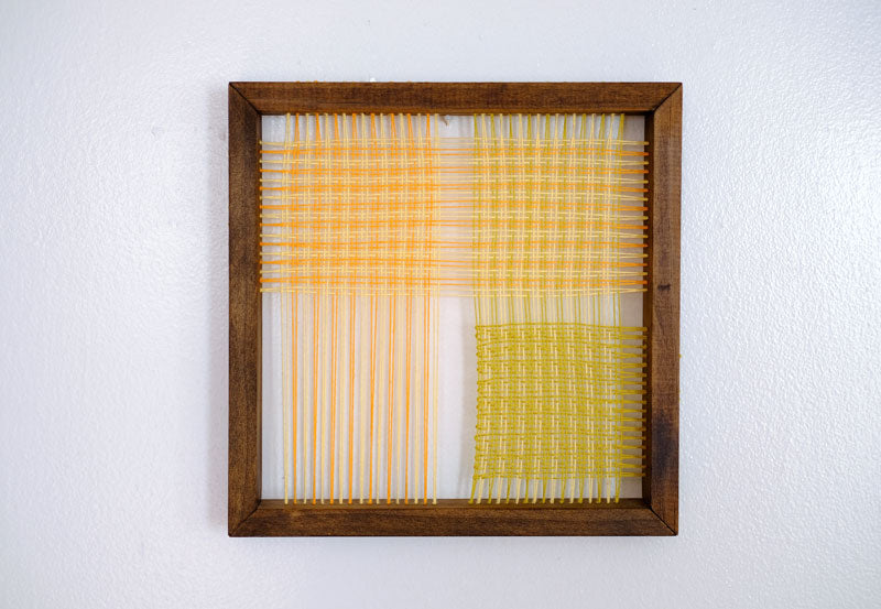 Woven Construction: Small Square Three Cloth