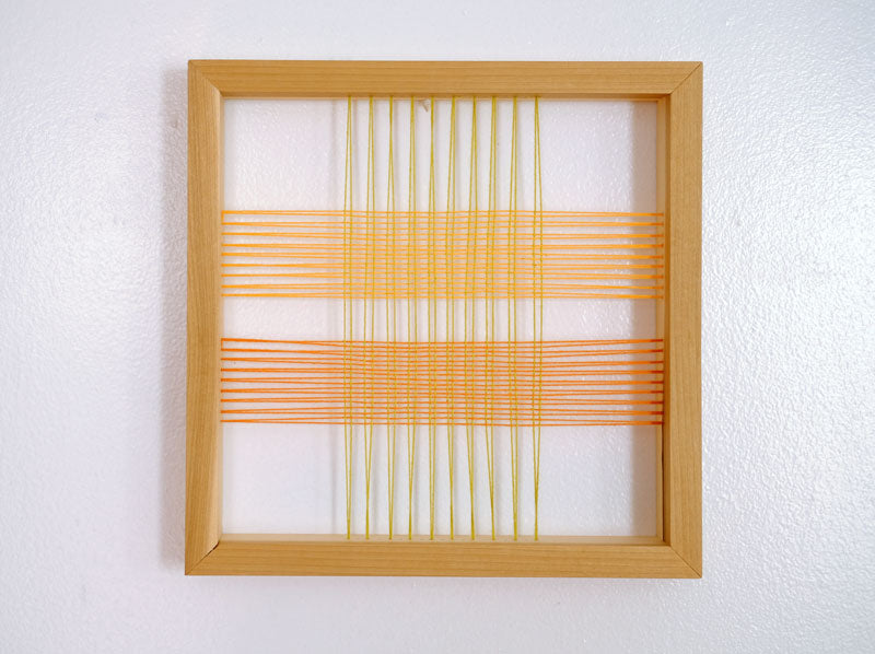 Woven Construction: Small Square Abstract