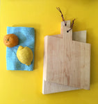 Tilted Maple Cutting Board