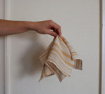 Gold Stripe Handkerchief