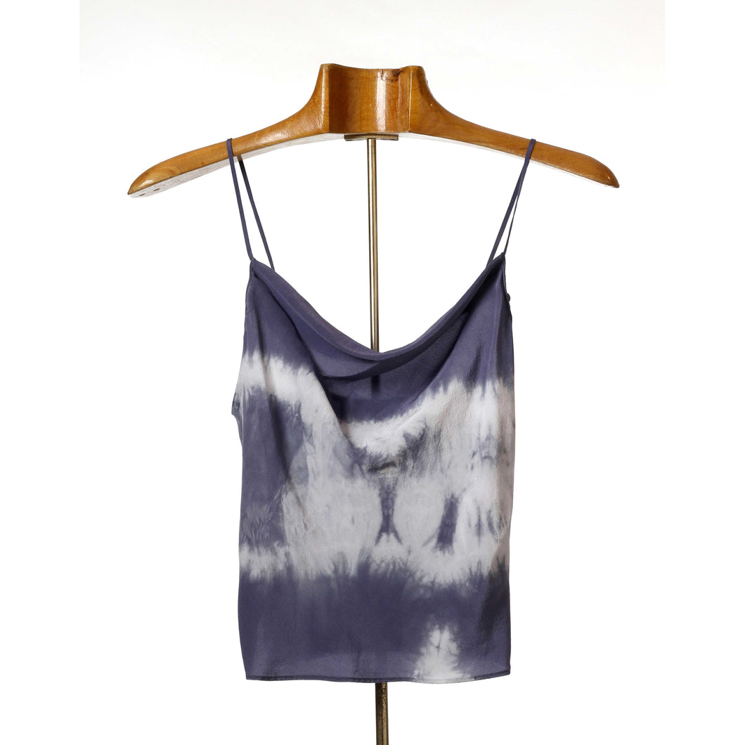 Cowl Neck Top, Tie-Dyed