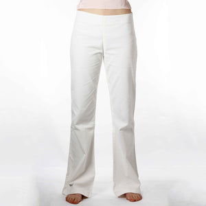 Bell-bottom cotton corduroy pants