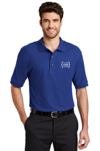 Your Name Here - Port Authority Silk Touch Polo