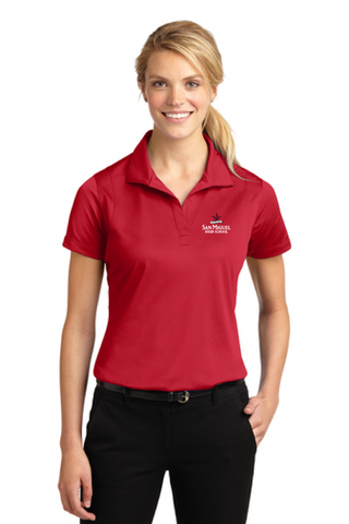 San Miguel High School - Sport-Tek Ladies Micropique Sport-Wick Polo