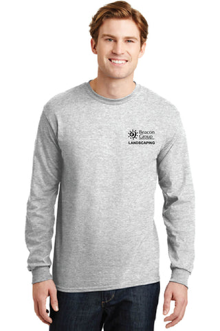 Beacon Custodial - Landscaping - Gildan - DryBlend 50 Cotton/50 Poly Long Sleeve T-Shirt