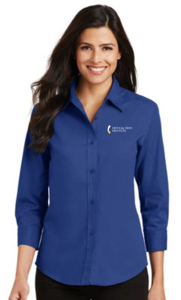 C-Path Port Authority® Ladies 3/4 Sleeve Easy Care Shirts