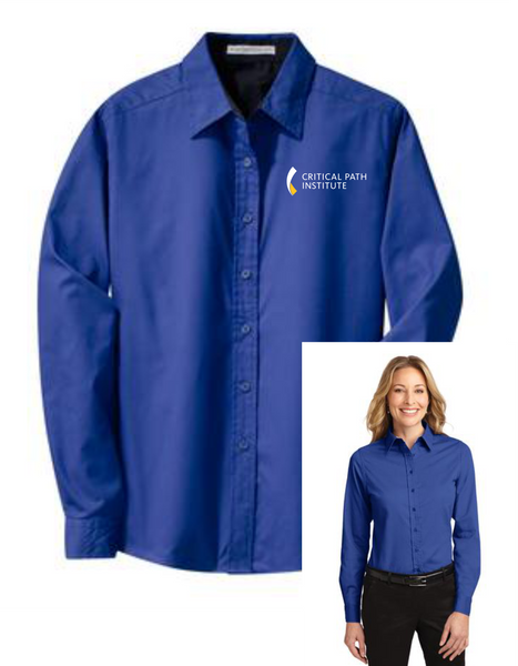 C-Path Port Authority® Ladies Long Sleeve Easy Care Shirt