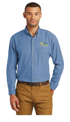 Beacon Group - Beacon Facilities & Maintenance - Port & Company - Long Sleeve Value Denim Shirt