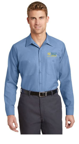 Beacon Group - Beacon Facilities & Maintenance - Red Kap - Long Sleeve Industrial Work Shirt