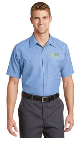 Beacon Group - Beacon Facilities & Maintenance - Red Kap - Short Sleeve Industrial Work Shirt