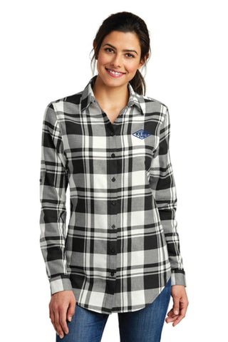 NEW ITEM!!!!! KE&G Port Authority Ladies Plaid Flannel Tunic