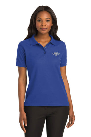 KE&G Port Authority Ladies Silk Touch Polo