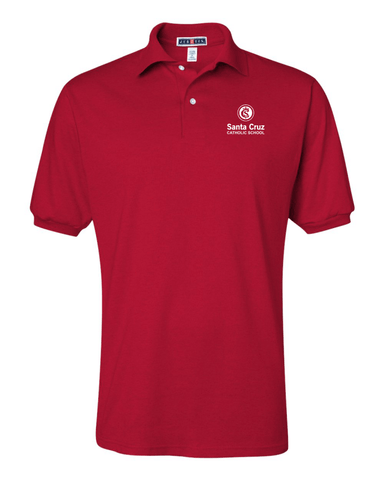 Santa Cruz Catholic School Adult Uniform Polo