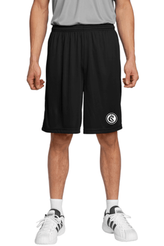 Sport-Tek Short custom logo for Santa Cruz Catholic School