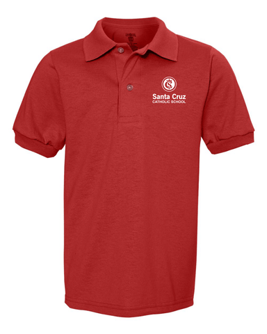 Santa Cruz Catholic School Youth Uniform Polo