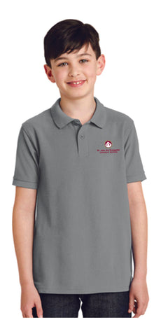 St. John the Evangelist - Youth Uniform Polo Shirt