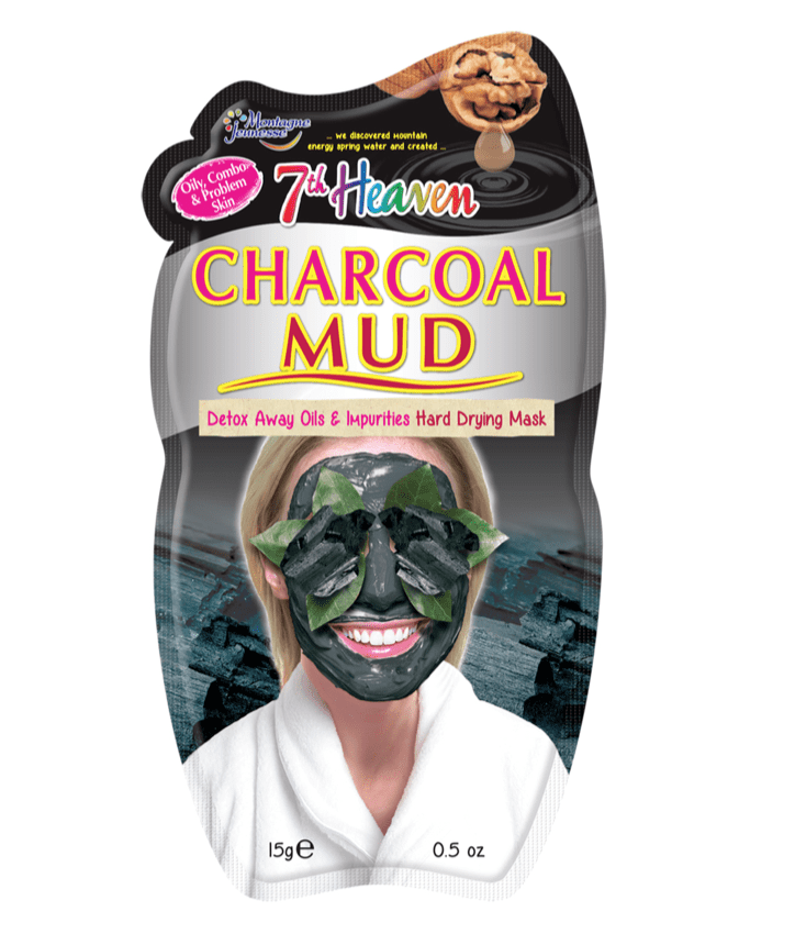 7th Heaven Mascarillas Faciales Charcoal Mud Peel Off Mask 4849