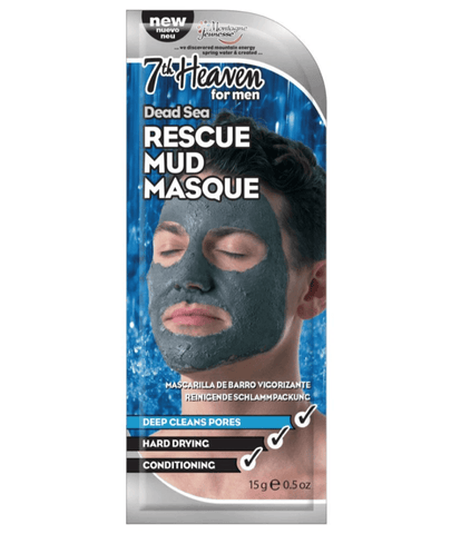 7th Heaven Mascarillas Faciales Men's Dead Sea Rescue Mud 4850