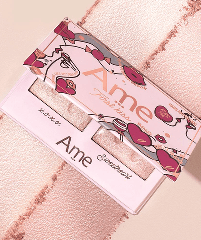 Ame Cosméticos Rostro FIRST KISS Highlighter Duo