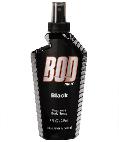 Bod Man Body Splash Black Body Spray 236ml 5980