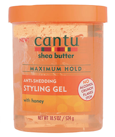 Cantu Tratamientos Anti-Shedding Styling Gel with Honey 18.5oz 07925