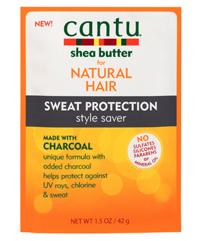 Cantu Tratamientos Sweat Protection Style Saver with Charcoal 1.5oz 07911