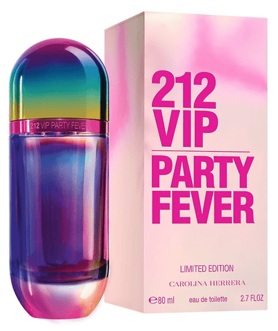 Carolina Herrera Fragancias 212 VIP Party Fever Women EDT 80ml Spray