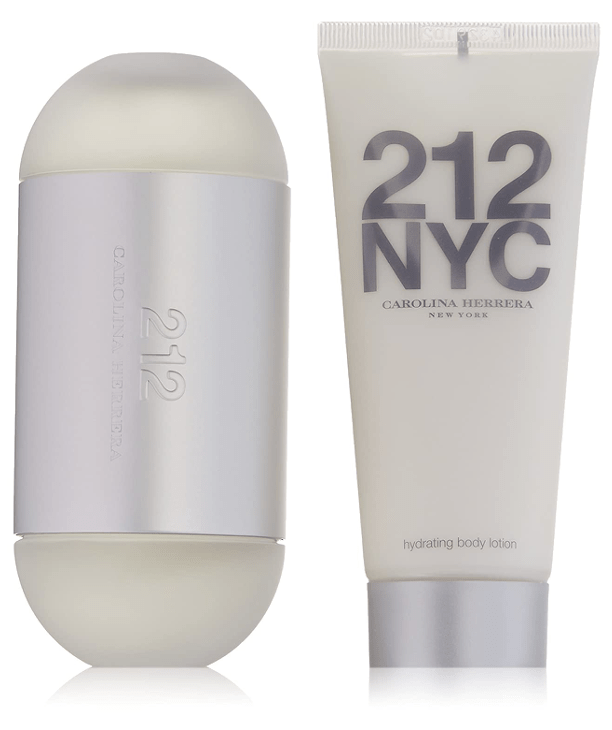 Carolina Herrera Fragancias Estuche CH 212 (EDT 100ml Spray + Lotion)