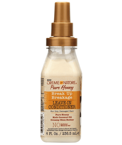 Creme Of Nature Tratamientos Pure Honey Break Up Leave In 8 Oz. 8126