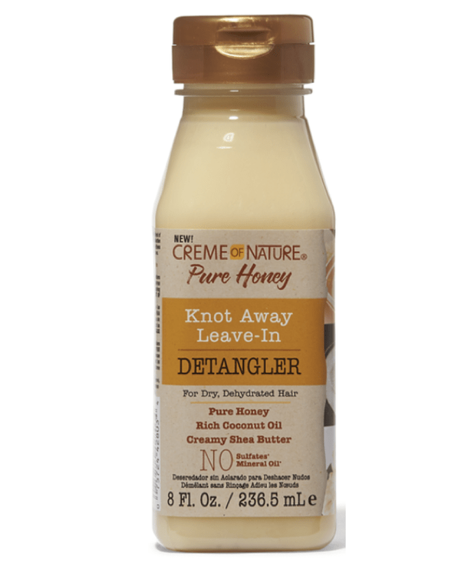 Creme Of Nature Tratamientos Pure Honey Knot Leave In Detangler 8 Oz. 8058