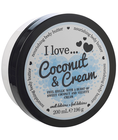 I Love Body Butter Coconut & Cream Body Butter 200ml 88262