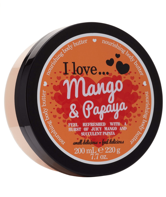 I Love Body Butter Mango & Papaya Body Butter 200ml 88264