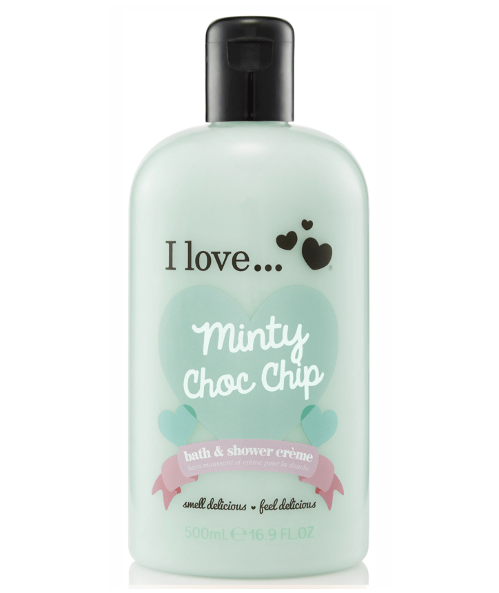 I Love Shower Gel Minty Choc Chip Cake Shower Gel 500ml 38223