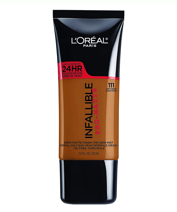 L'Oreal Rostro 111 - SOFT SABLE Infallible Pro-Matte Foundation 30ml
