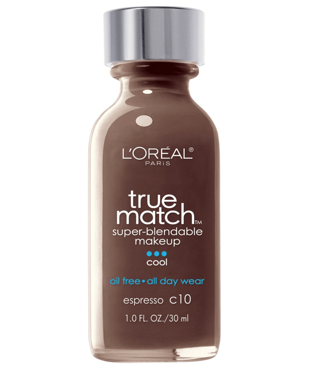 L'Oreal Rostro C10 - ESPRESSO True Match Super-Blendable Foundation 30ml