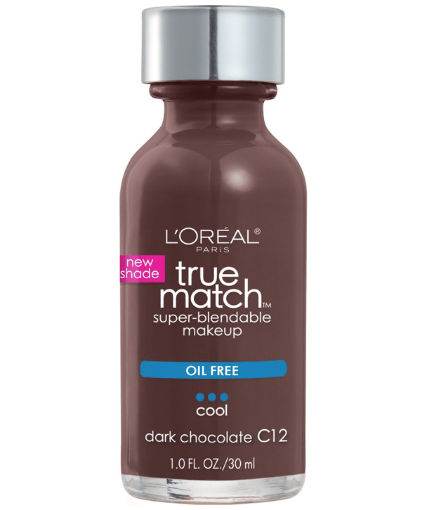 L'Oreal Rostro C12 - DARK CHOCOLATE True Match Super-Blendable Foundation 30ml