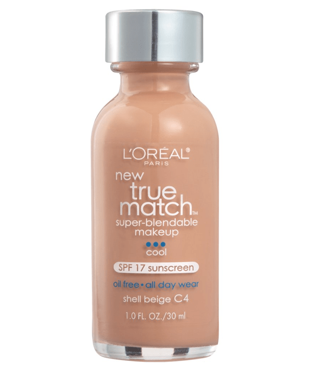 L'Oreal Rostro C4 - SHELL BEIGE True Match Super-Blendable Foundation 30ml