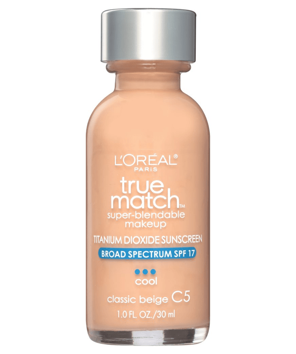 L'Oreal Rostro C5 - CLASSIC BEIGE True Match Super-Blendable Foundation 30ml